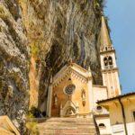 santuario di madonna della corona trekking veneto verona