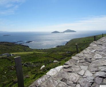 vista da cahersiveen nel ring of kerry