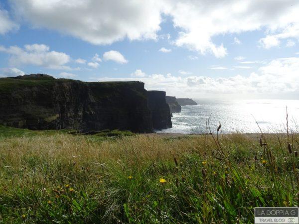 visitor centre sulle scogliere di moher in irlanda