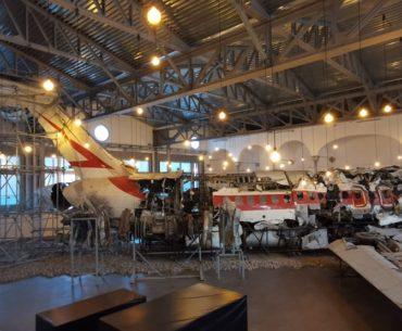 visita al museo per la memoria della strage di ustica a Bologna