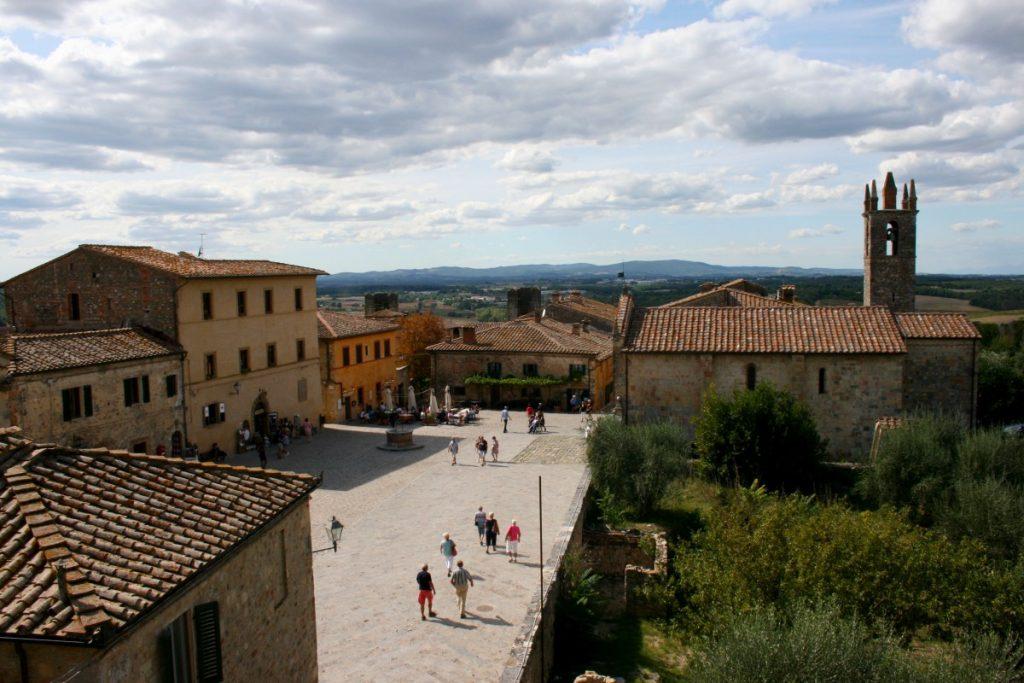 Monteriggioni centro storico