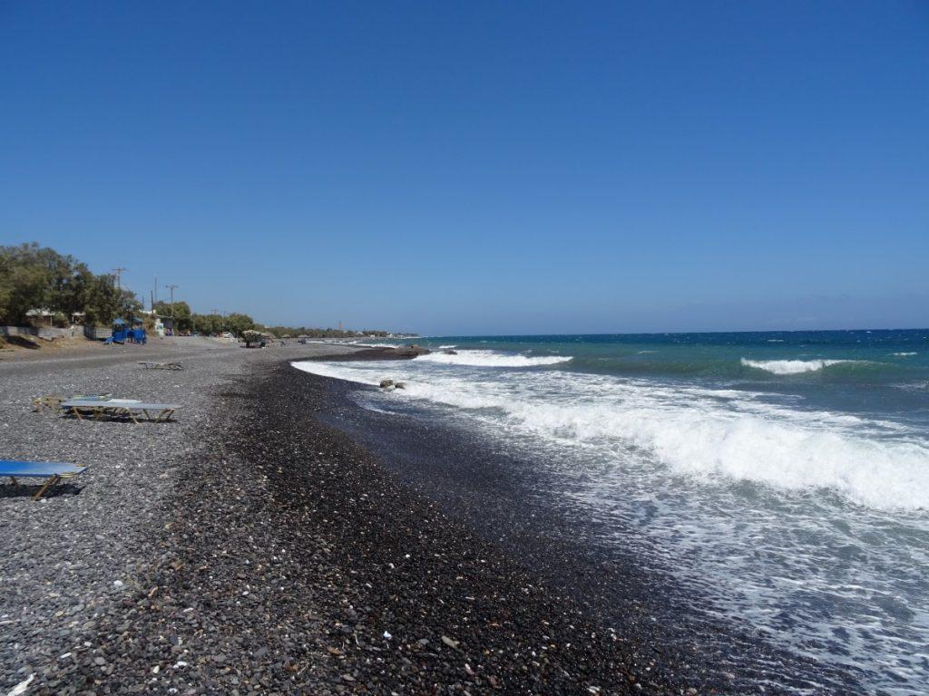 Santorini - spiaggia di Kamari
