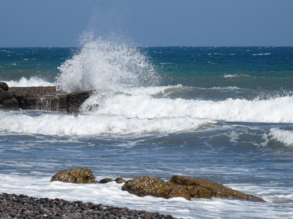 Santorini - spiaggia Monolithos