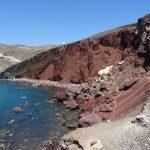 Santorini - Red beach