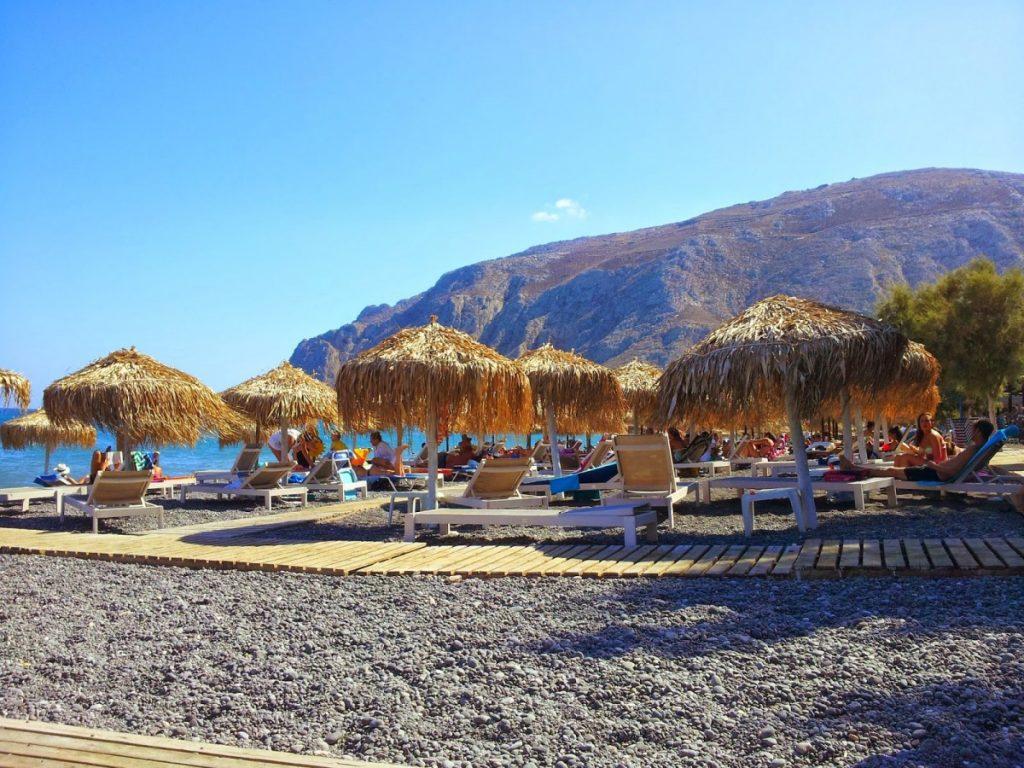 Santorini - spiaggia Kamari