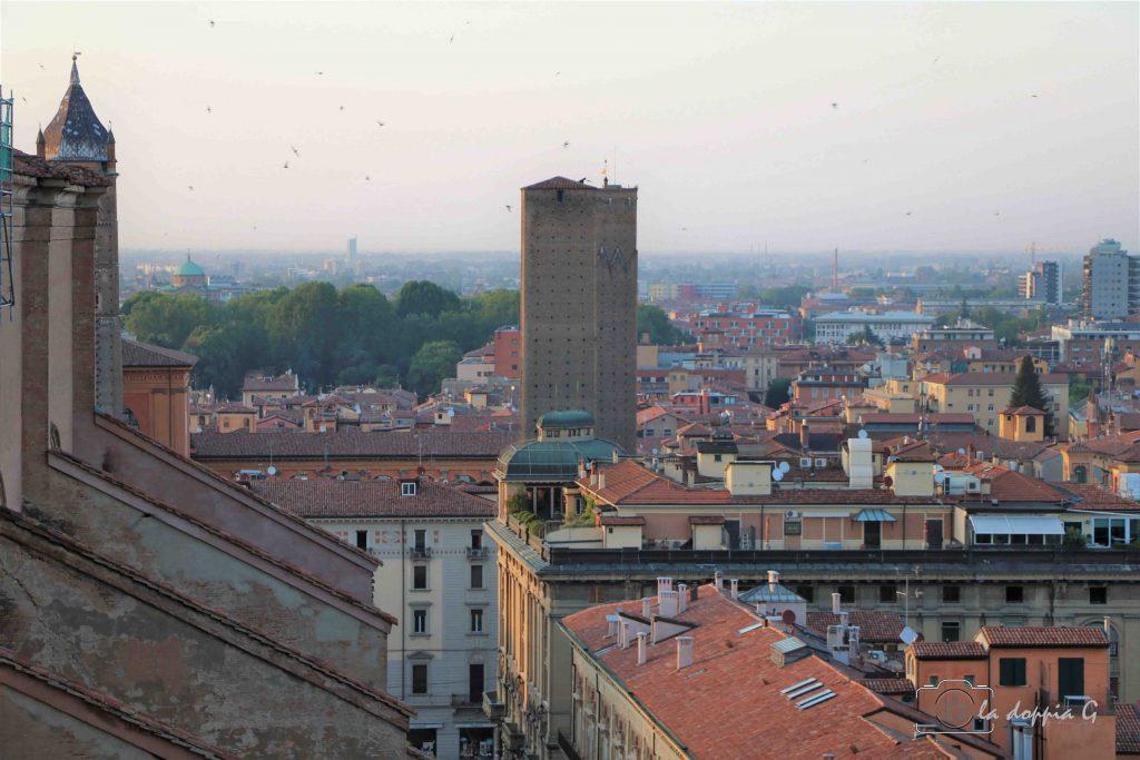 Vista dal sottotetto di San Petronio Bologna