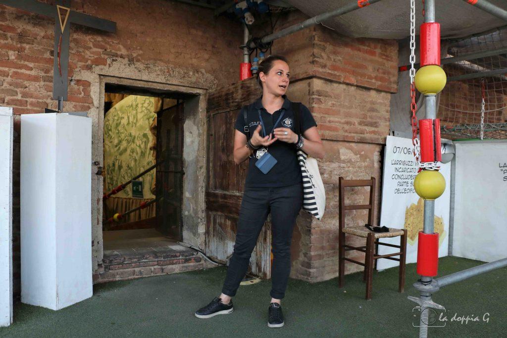 Vista dal sottotetto di San Petronio con Associazione Succede Solo a Bologna