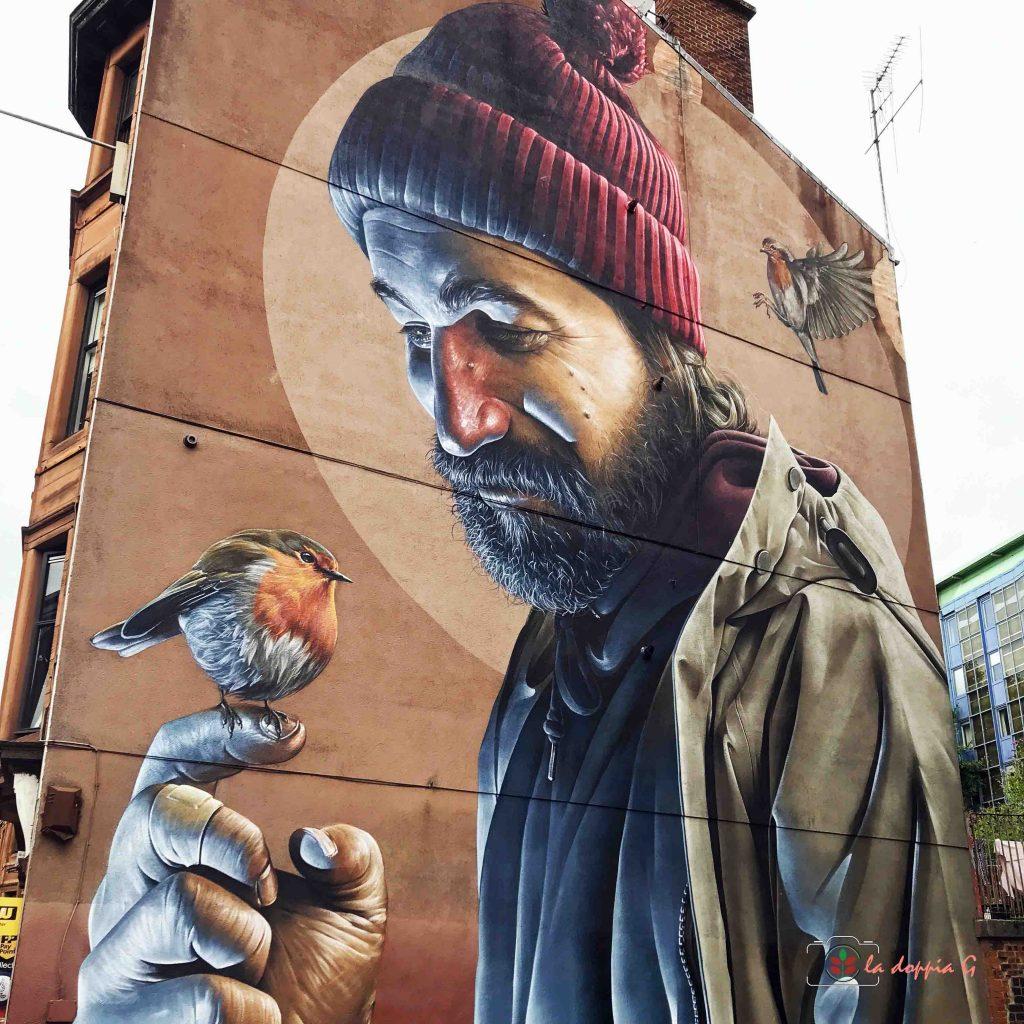 murales e graffiti scozia