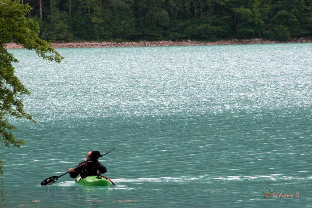 attrazioni sul lago di barcis