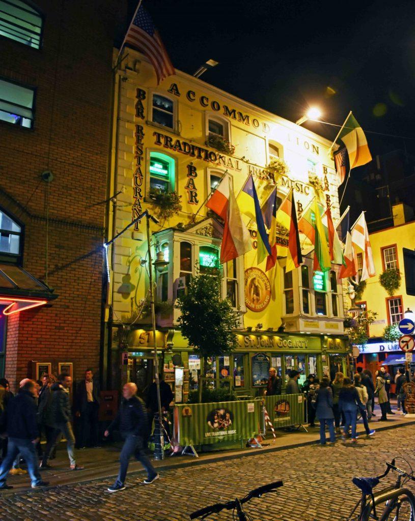 dublino gogarty pub in temple bar