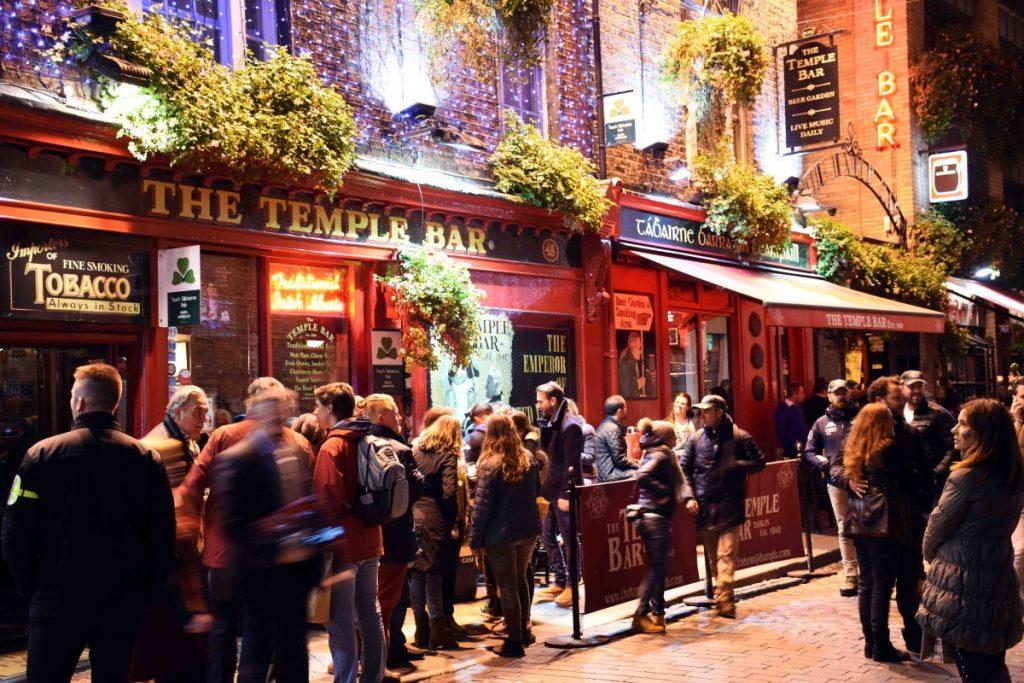 dublino temple bar pub - tour dei pub più belli di dublino
