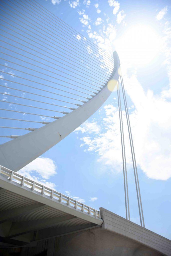 valencia ponte assut de l'or nella citta delle arti e scienza
