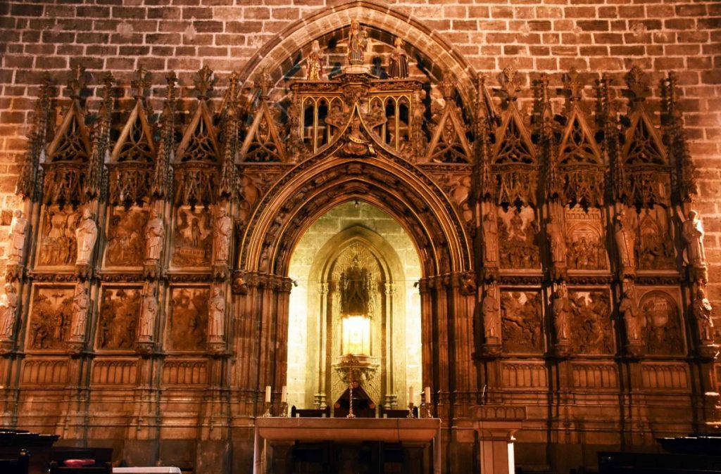valencia capilla santo caliz santo graal nella cattedrale di valencia