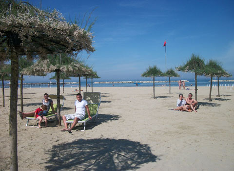 spiaggia delle tamerici a cesenatico