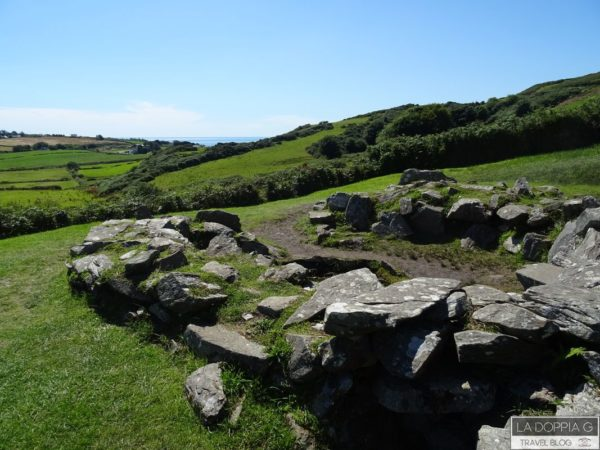 drombe stone circle vicino a cork complesso monolitico di dolmen