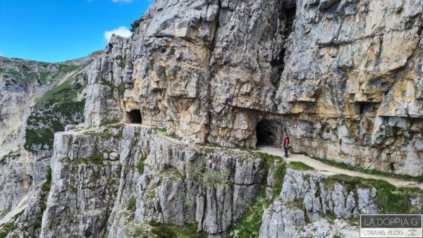 veneto strada delle 52 gallerie sul monte pasubio