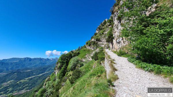 percorso di trekking facile: la strada delle 52 gallerie sul monte pasubio