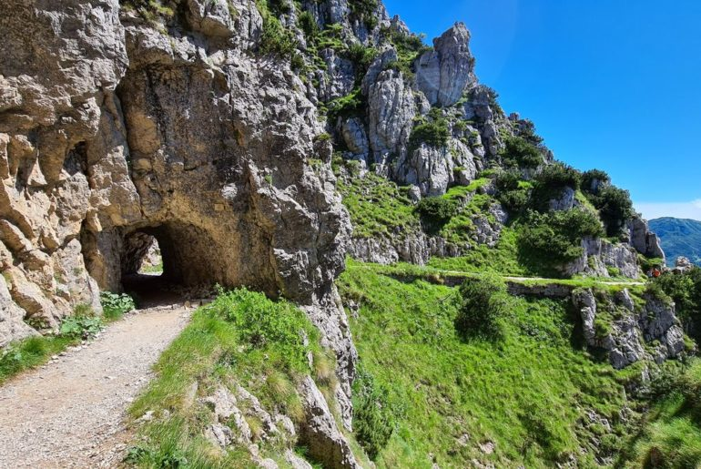 strada delle 52 gallerie del monte pasubio